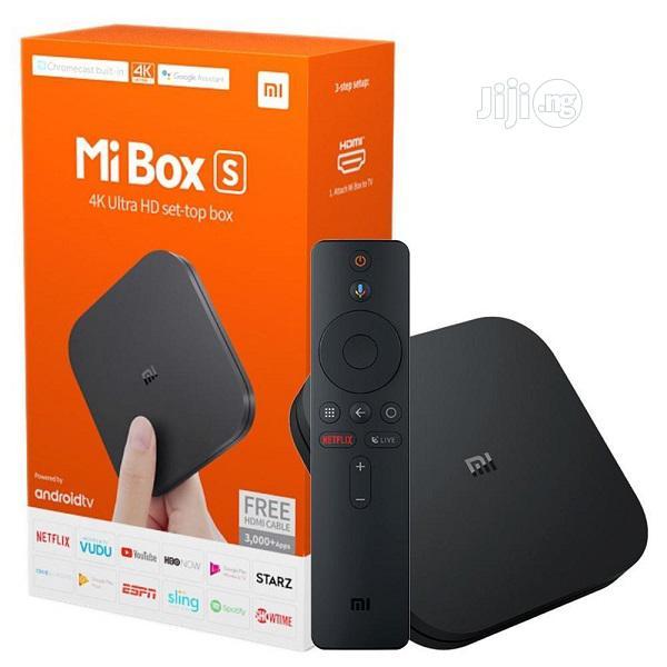 Mi Box S With 4K