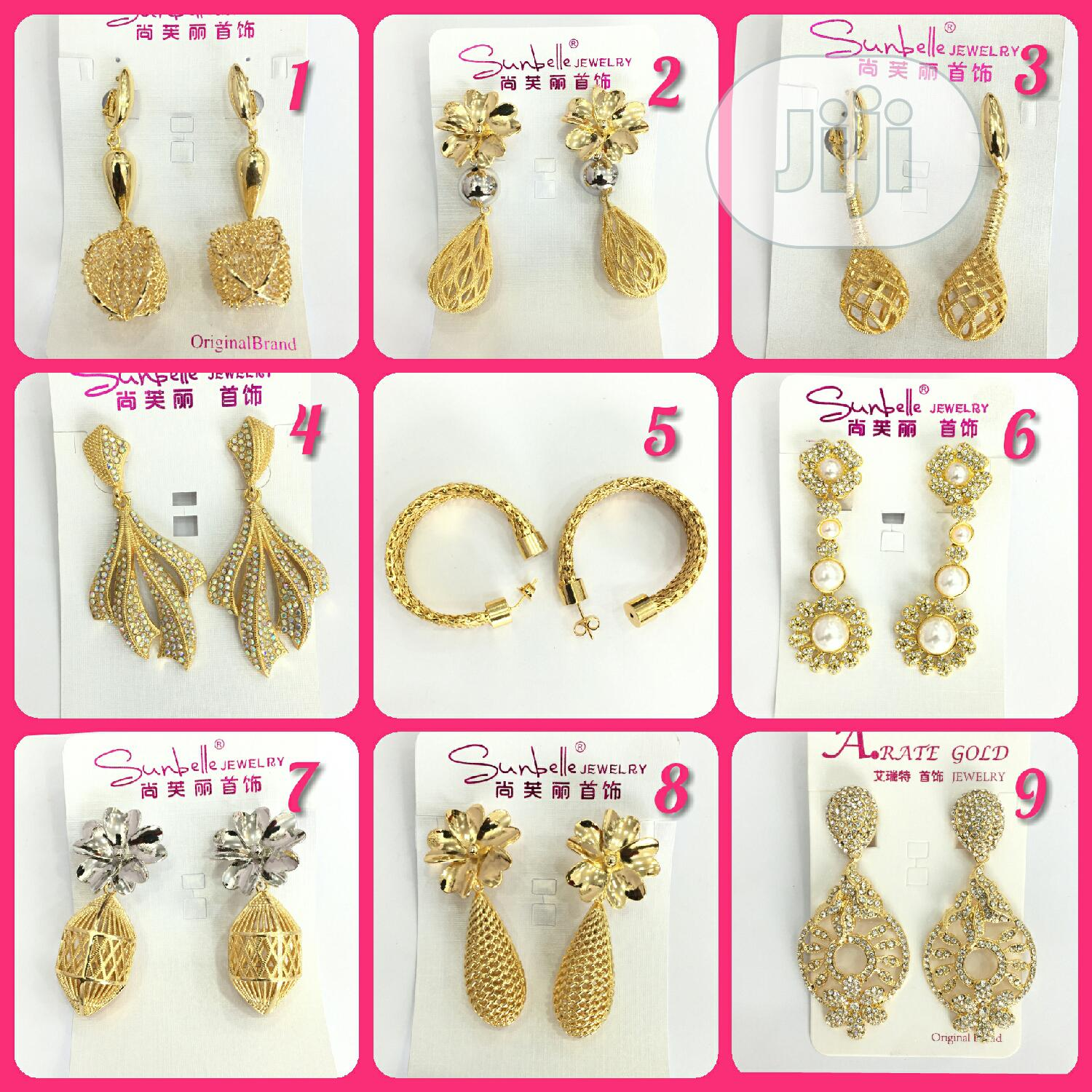 Tovivans Dressy Fashion Earrings   Jewelry for sale in Ikeja, Lagos State, Nigeria