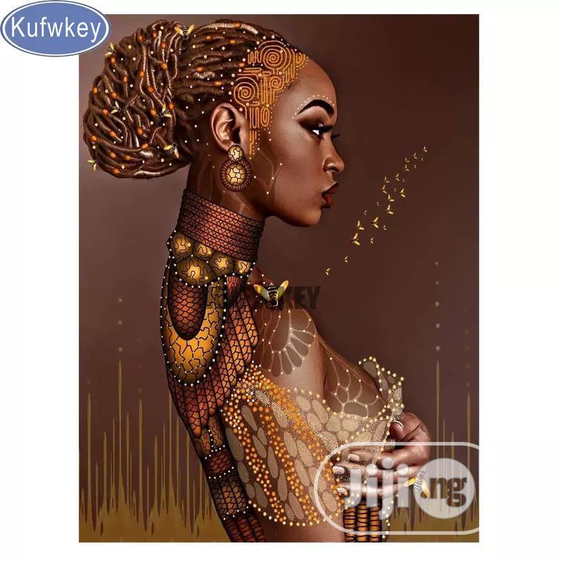 African Girl Artwork