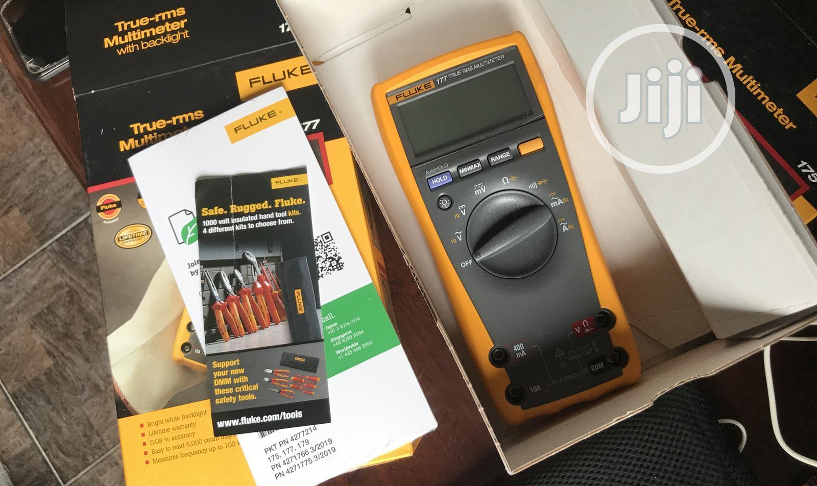 Digital True-rms Multimeter Fluke 177 | Measuring & Layout Tools for sale in Ojo, Lagos State, Nigeria