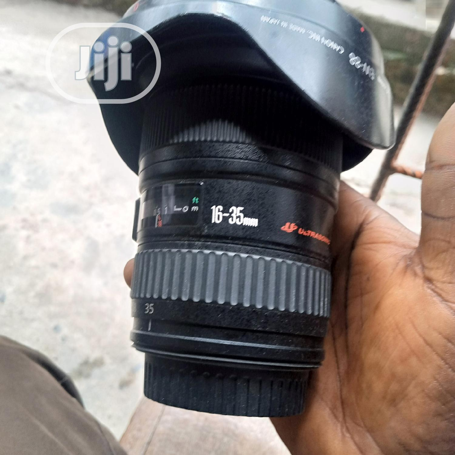 Canon Ef 16-35mm F/2.8l Lens | Accessories & Supplies for Electronics for sale in Lagos Island, Lagos State, Nigeria