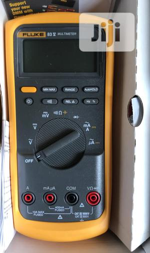 Fluke 83v Industrial Digital Multimeter | Measuring & Layout Tools for sale in Lagos State, Ojo
