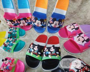 Carton Character Kiddies Jelly Slippers | Children's Shoes for sale in Lagos State, Alimosho