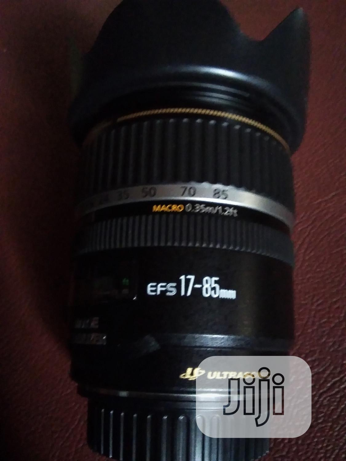 Canon 17- 85mm Zoom Lens   Accessories & Supplies for Electronics for sale in Alimosho, Lagos State, Nigeria