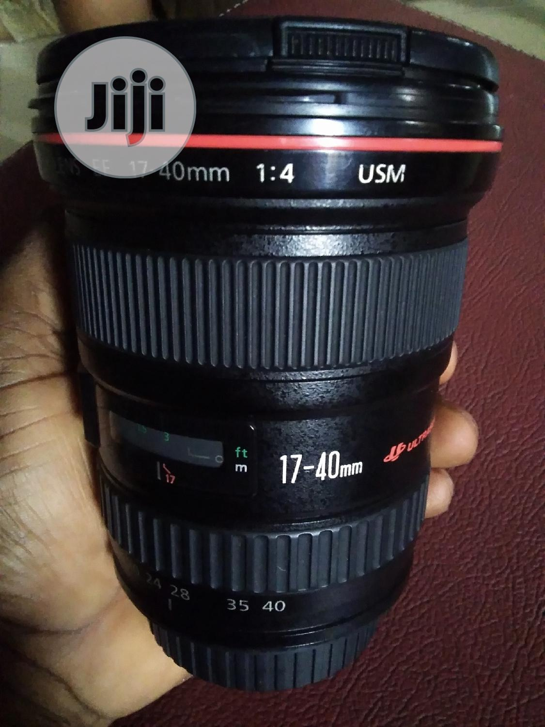 Canon 17-40mm F/4 Wide Angle Lens   Accessories & Supplies for Electronics for sale in Alimosho, Lagos State, Nigeria