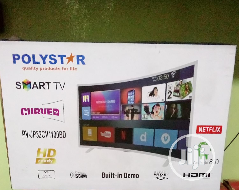 Polystar PV-JP32CV1100BD Curved Smart TV