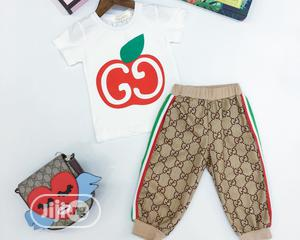 Gucci Inspired Top And Trouser Set | Children's Clothing for sale in Lagos State, Agege