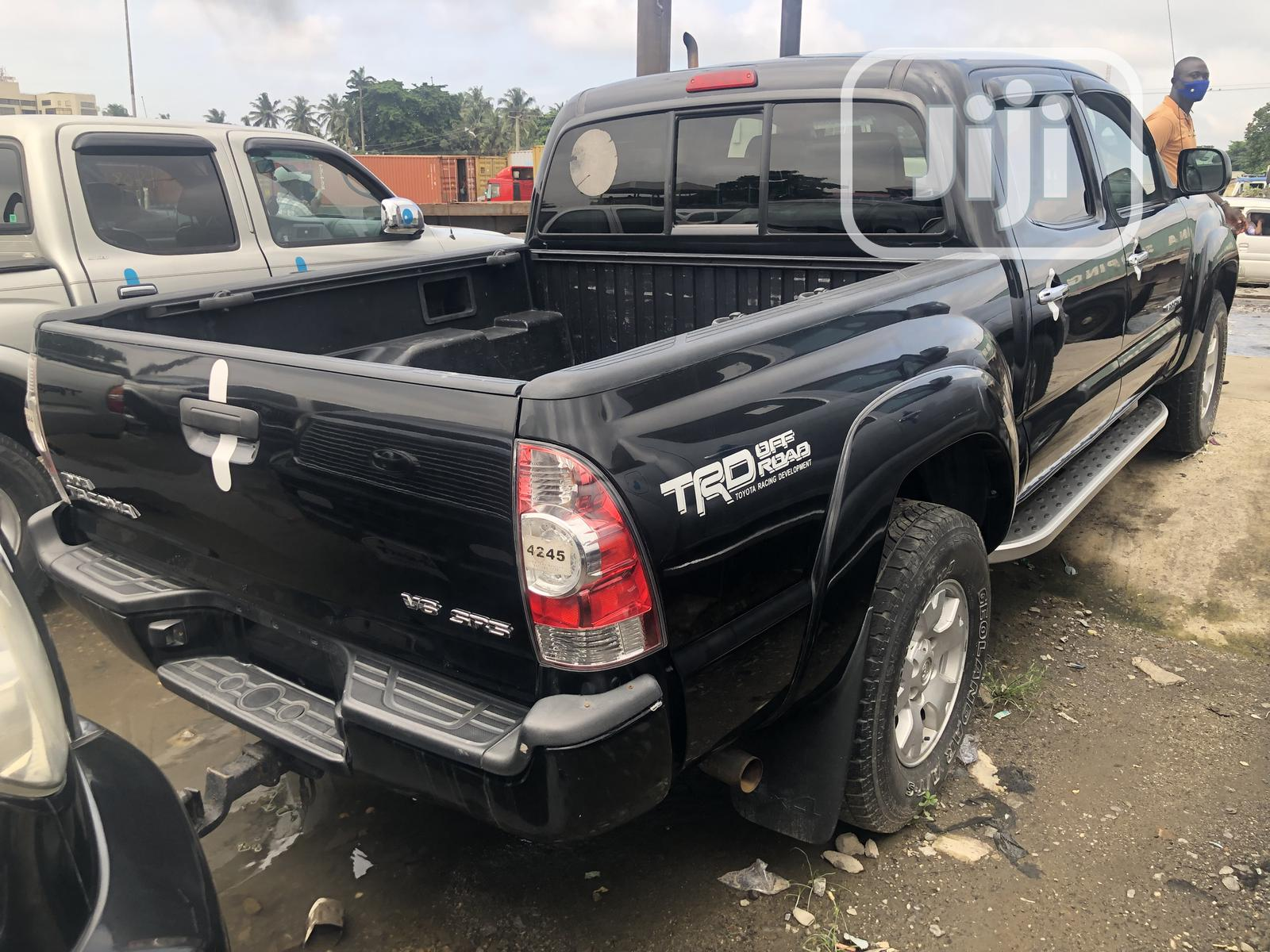 Toyota Tacoma 2007 Black | Cars for sale in Apapa, Lagos State, Nigeria