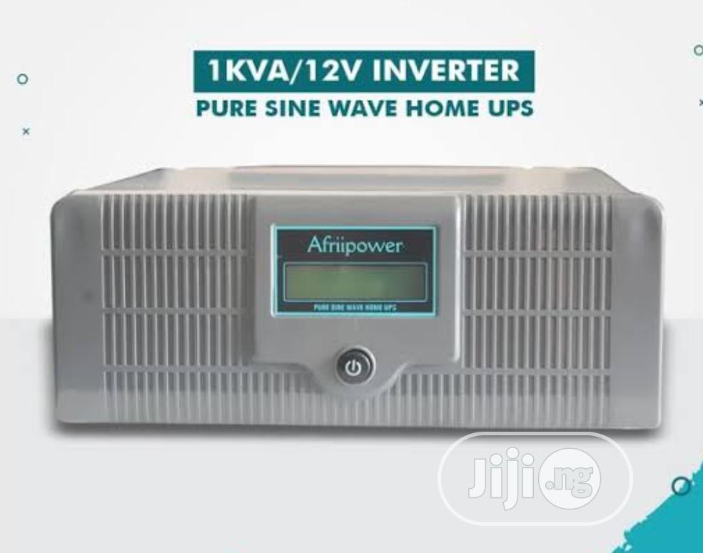 1kva 12V Afriipower Indian Inverter Pure Sine Wave