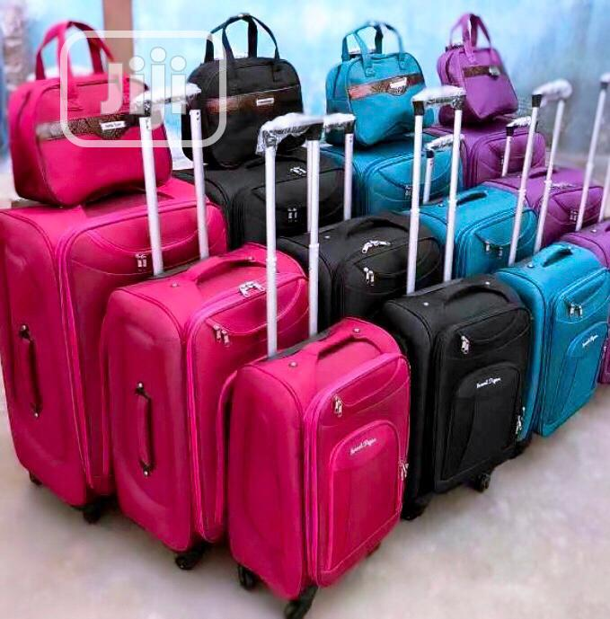 4 In 1 Set Luggage Traveling Box.