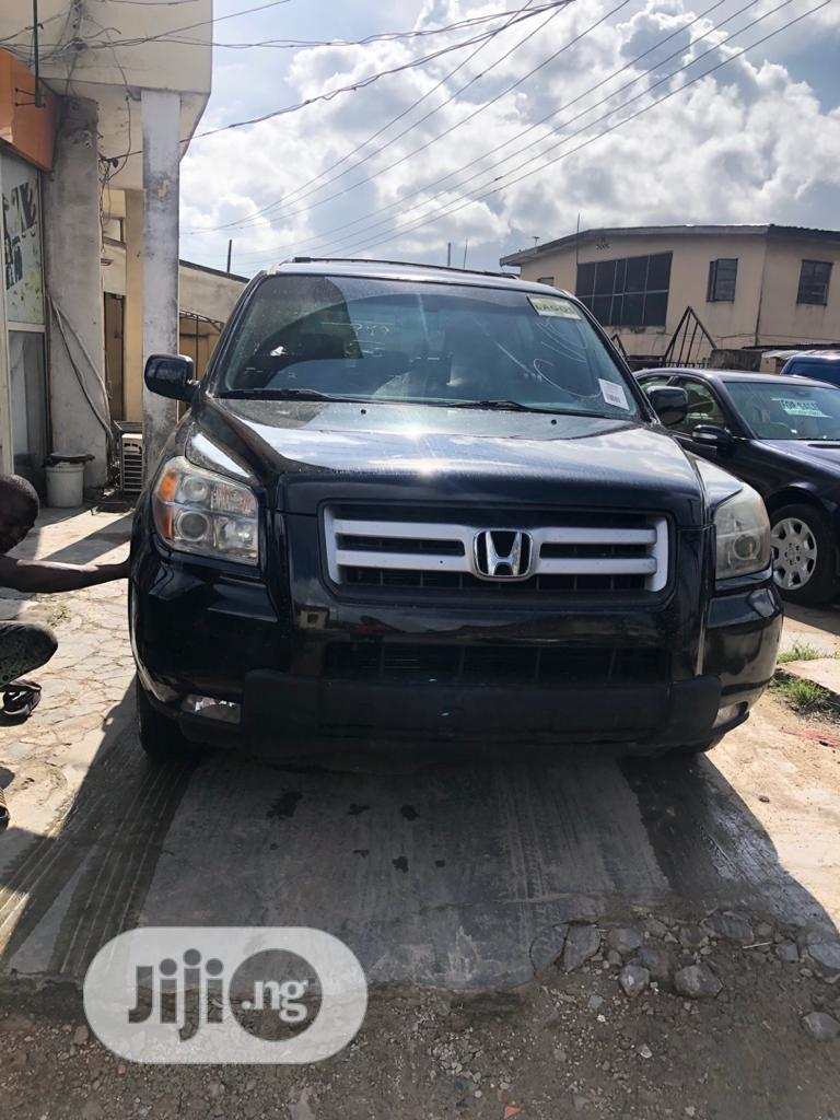 Honda Pilot 2006 EX 4x4 (3.5L 6cyl 5A) Black | Cars for sale in Surulere, Lagos State, Nigeria