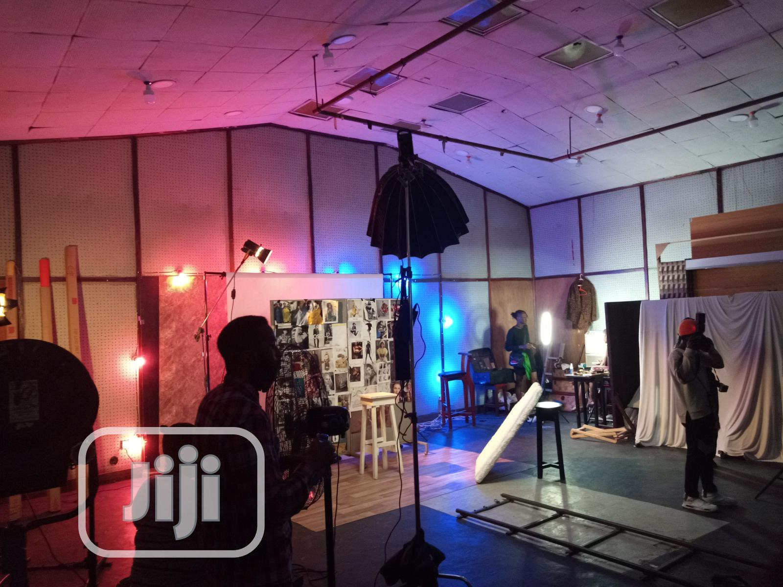 Studio Rental For Video Production And Photo Shoots | Photography & Video Services for sale in Yaba, Lagos State, Nigeria