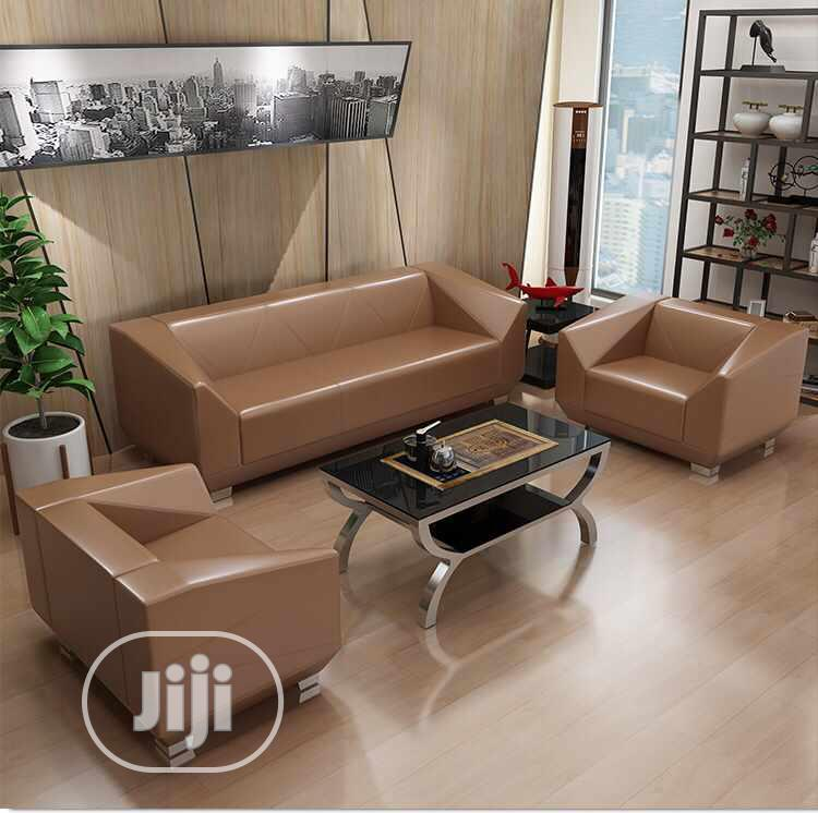 Archive: Pure Leather Sofa Set,