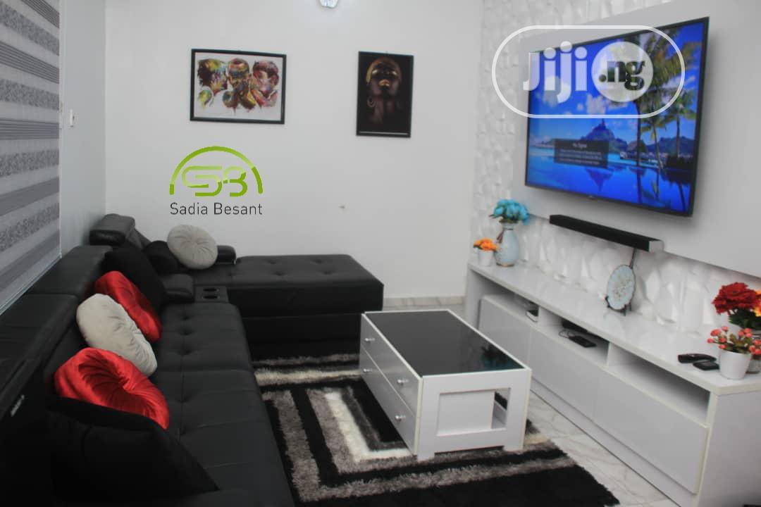 L Shape Sofa/Tv Wall Unit