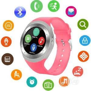 Y1 Android Smartwatch With Sim Slot | Smart Watches & Trackers for sale in Lagos State, Ikeja