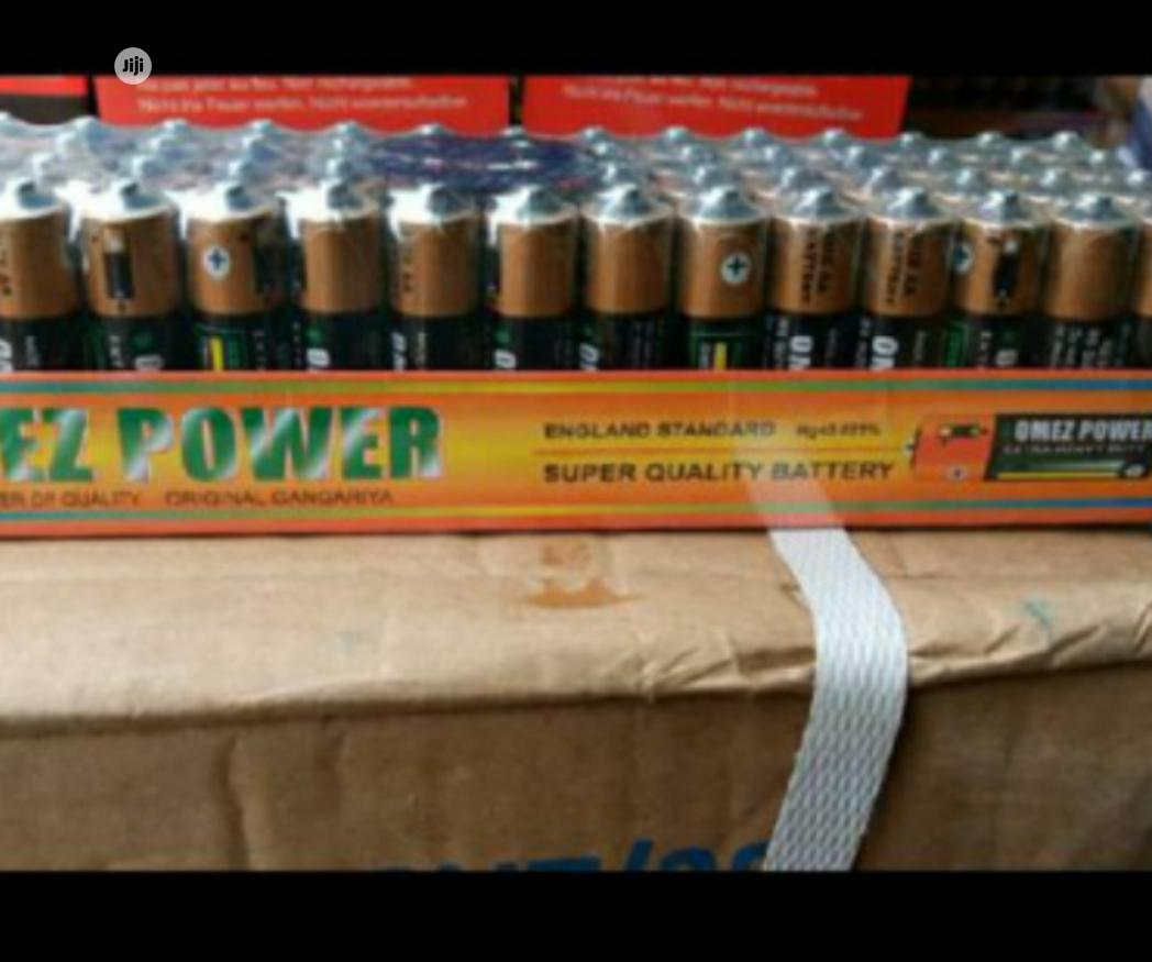 Omez Power Finger Battery