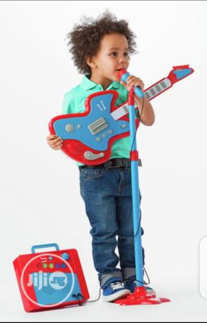 Children Guitar,Amplifier And Mic With Stand   Toys for sale in Ondo State, Akure