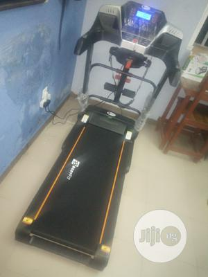 2hp Body Fit Treadmill With Massager And Dumbbell   Sports Equipment for sale in Lagos State, Maryland