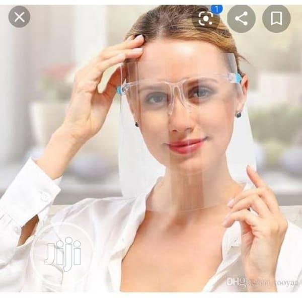 Face Shield With Glasses | Safety Equipment for sale in Lagos Island (Eko), Lagos State, Nigeria