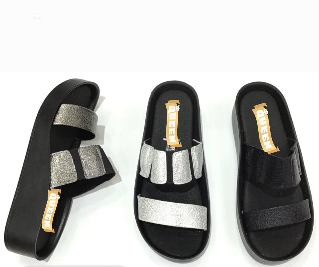 Fashionable Ladies Wedge Slippers Available