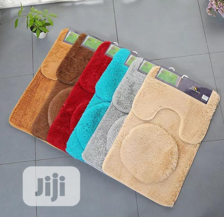 3 in 1 Bathroom Rug | Home Accessories for sale in Ikeja, Lagos State, Nigeria