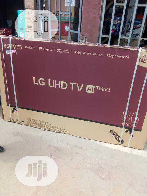 LG 86-inch UHD 4K Smart TV (86UM75) Webos Magic Remote