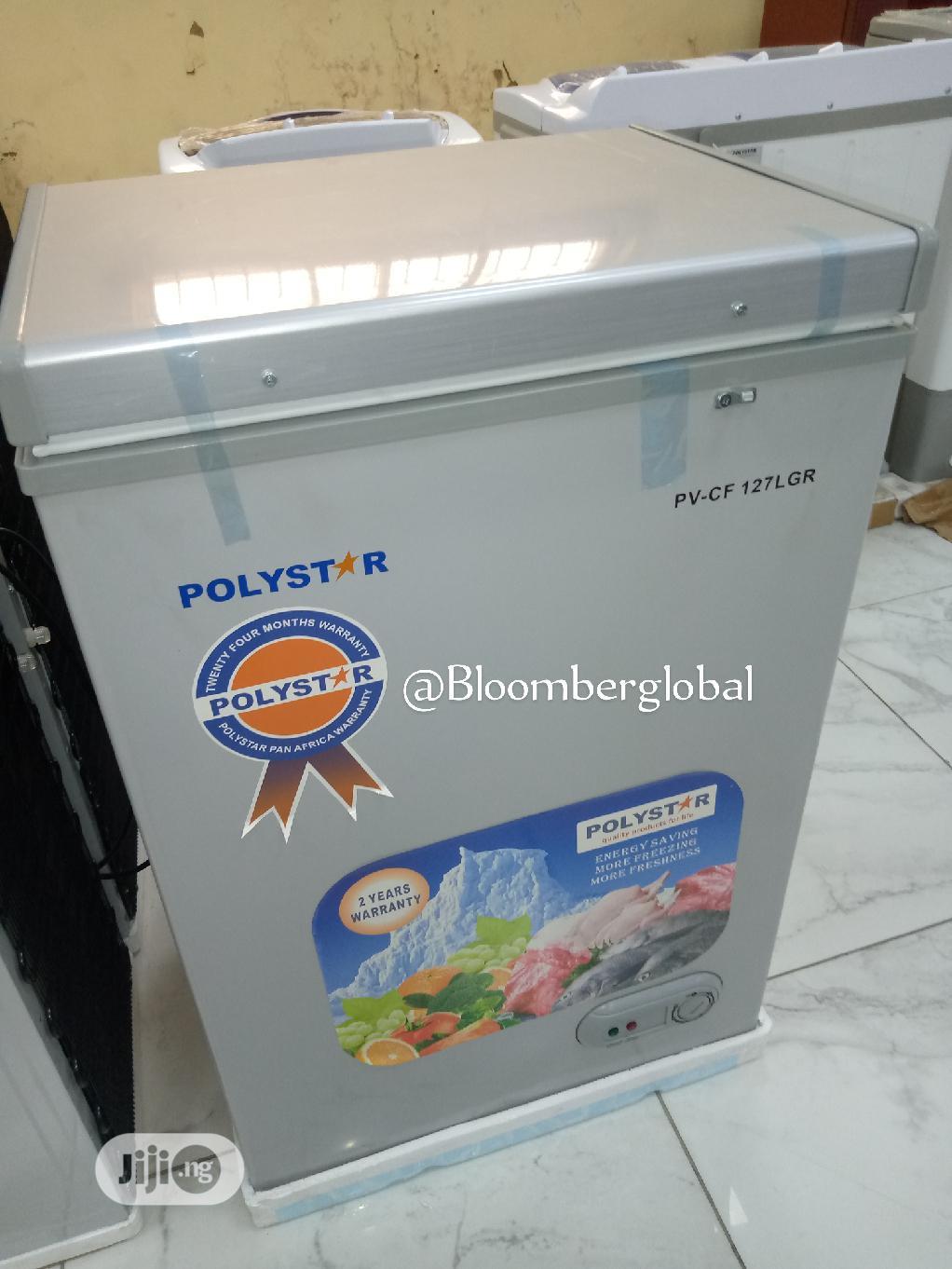 Table Top Chest Freezer 127L
