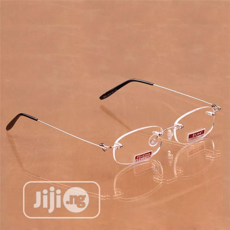 Reading Glasses Spring Leg Frameless Resin Aspheric Surface | Clothing Accessories for sale in Ikorodu, Lagos State, Nigeria