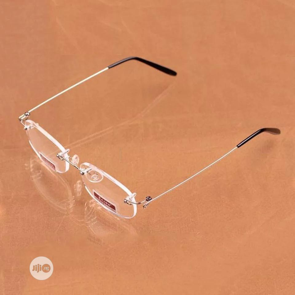Reading Glasses Spring Leg Frameless Resin Aspheric Surface