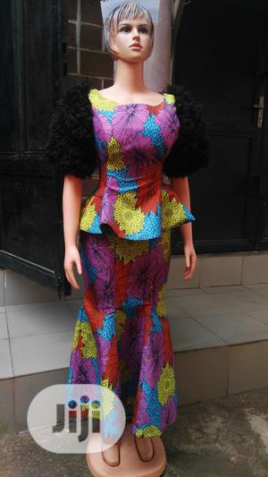 Ankara Skirt N Blouse | Clothing for sale in Abuja (FCT) State, Kubwa