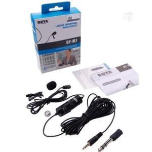 Lapel Mic [Boya Lavalier Microphone]   Audio & Music Equipment for sale in Lagos State, Amuwo-Odofin