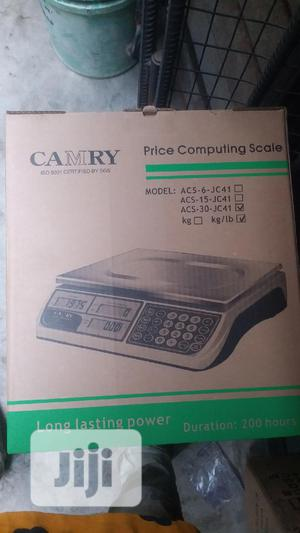 Original Digital Measuring Scale 30kg Camry | Store Equipment for sale in Lagos State, Surulere