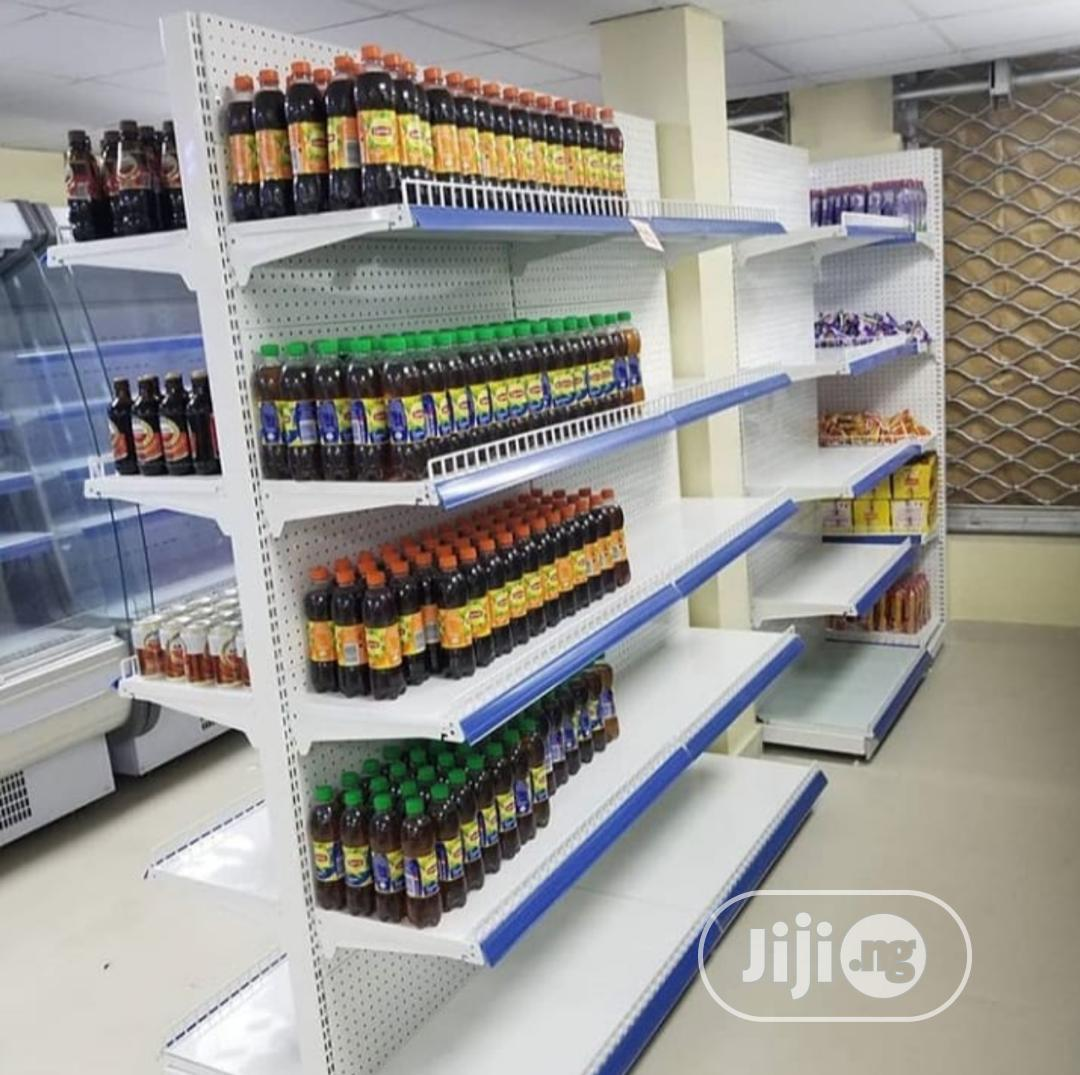 High Quality Supermarket Shelves/Double Face