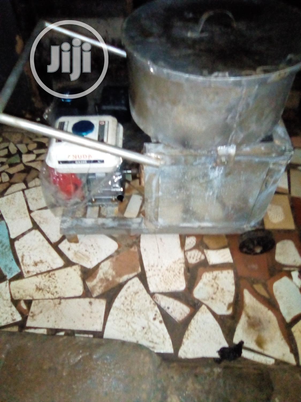 Engine Powered Fufu Pounder