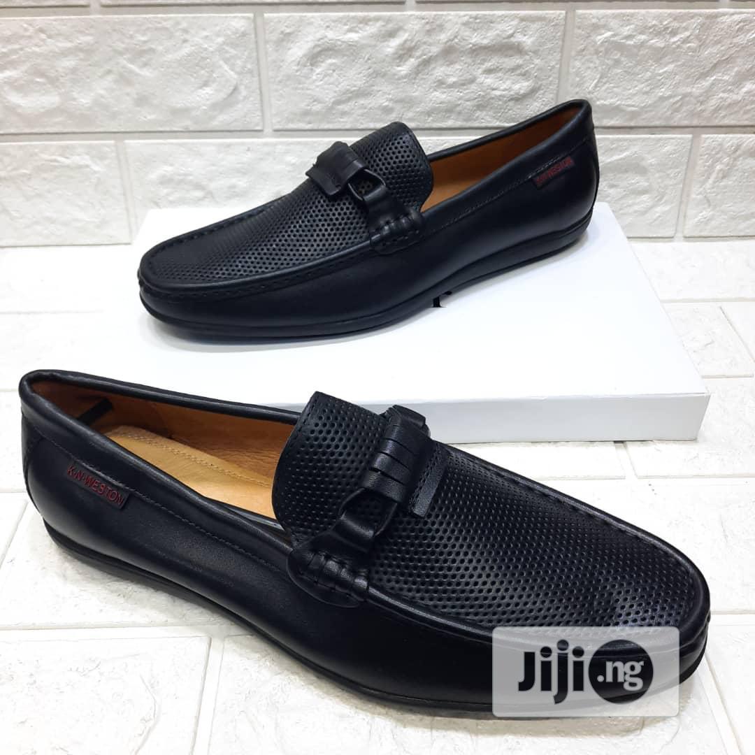 Men's Leather Flat Shoes