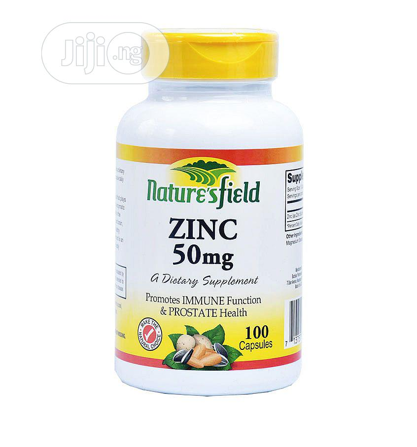Nature'S Field Zinc | Vitamins & Supplements for sale in Ikeja, Lagos State, Nigeria