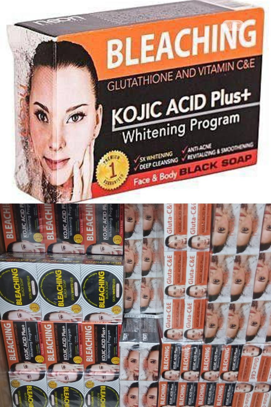 Neon Bleaching Kojic Acid+ With Glutathione Nd Vitamin C & E | Bath & Body for sale in Amuwo-Odofin, Lagos State, Nigeria