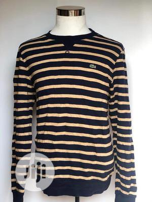 Quality Lacost Long Sleeves T-shirt   Clothing for sale in Lagos State, Surulere
