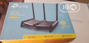 Tp-link 450mbps High Power Wireless N Router | Networking Products for sale in Lagos State, Ikeja