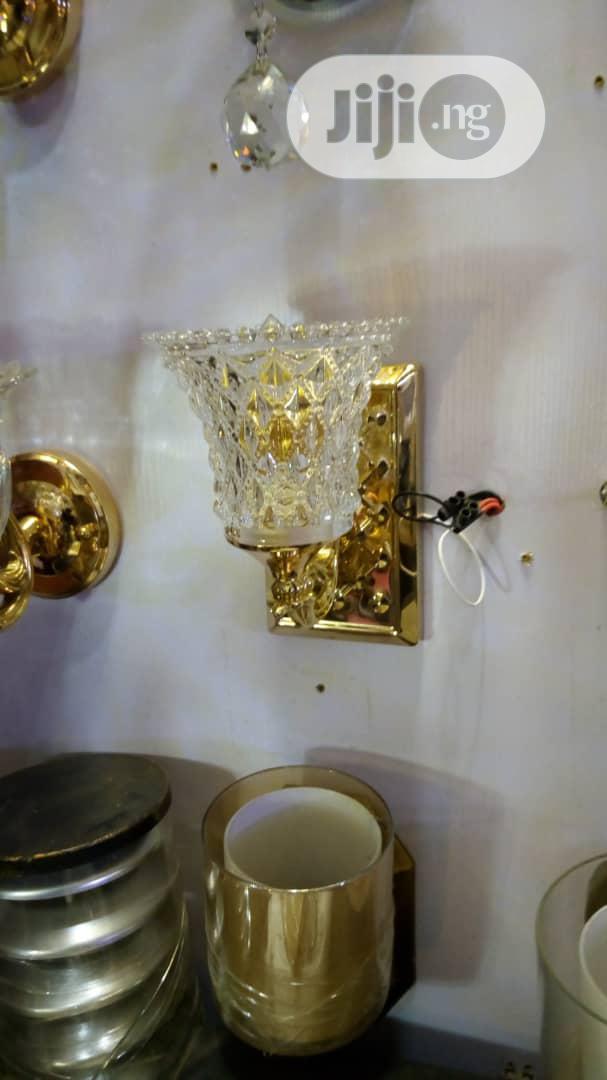 Golden Wall Light