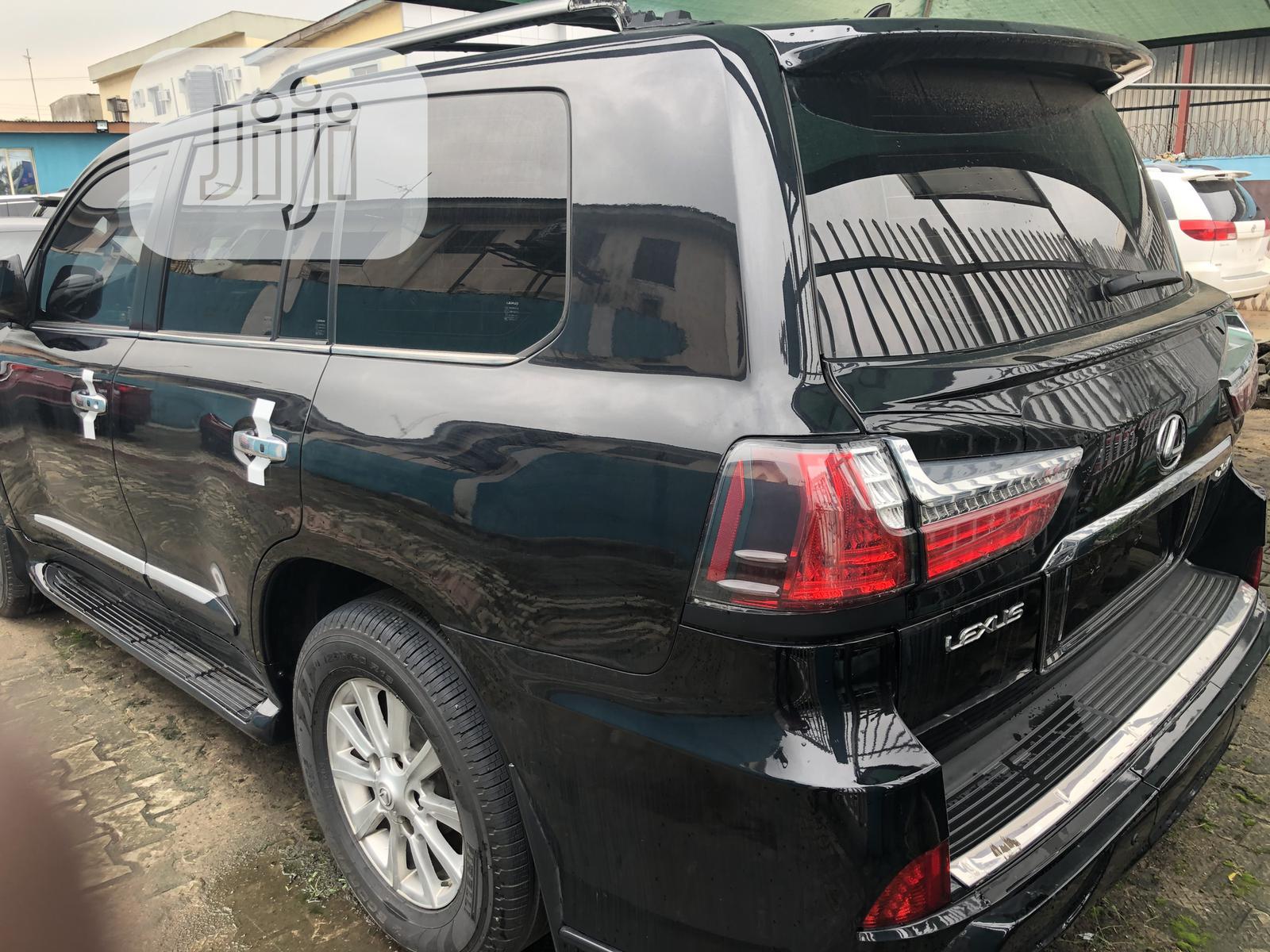 Lexus LX 2008 570 Black | Cars for sale in Ikeja, Lagos State, Nigeria