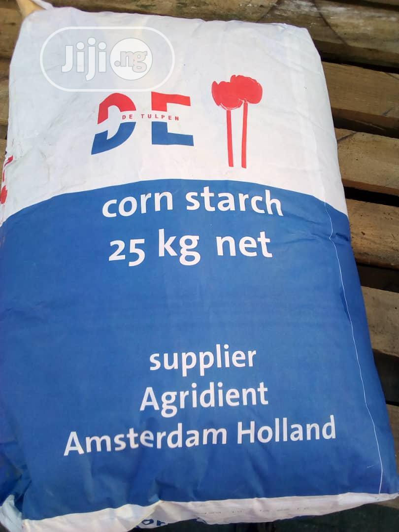 Premium Quantity Corn Starch 25kg