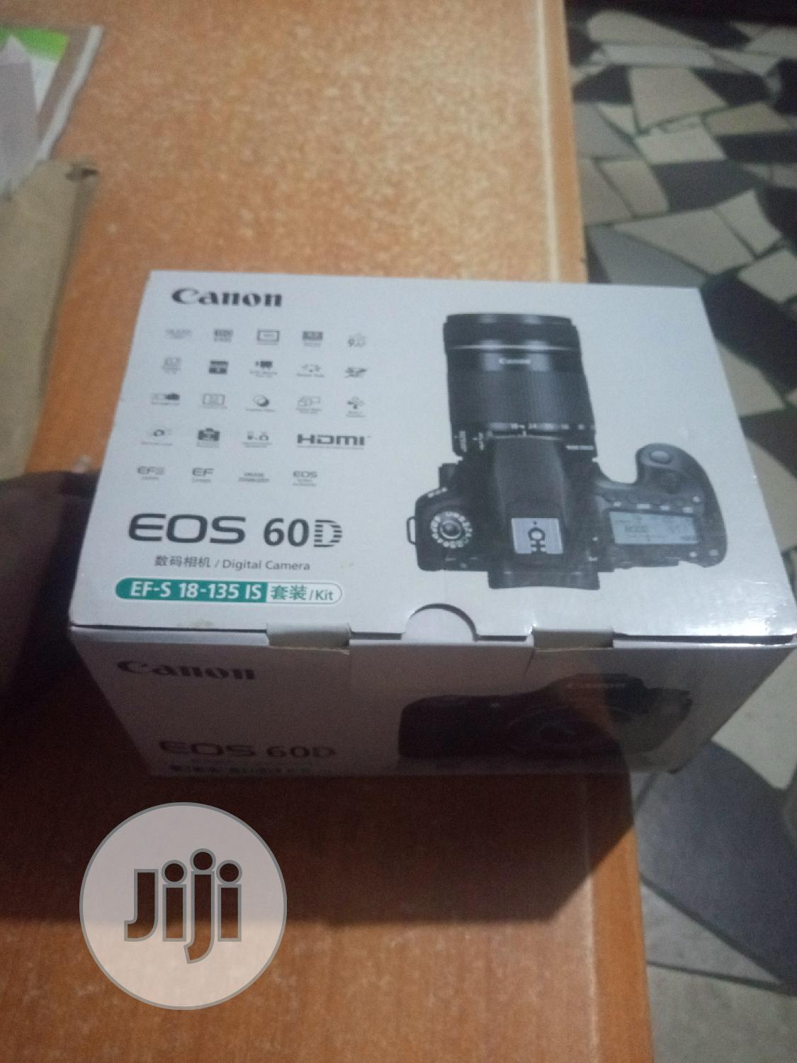 Canon 60d With 18-135mm | Photo & Video Cameras for sale in Oshodi, Lagos State, Nigeria