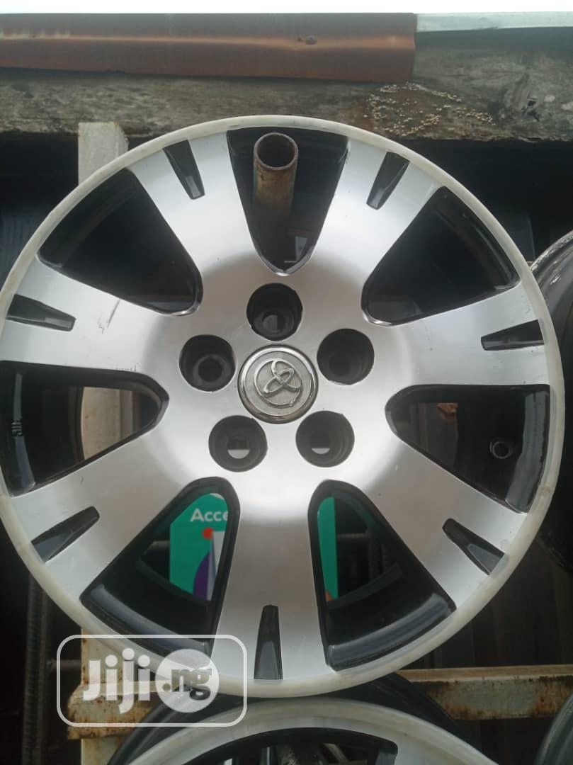 Rims For All Cars Jeep Etc Grade A With Quality Upgrade Now | Vehicle Parts & Accessories for sale in Mushin, Lagos State, Nigeria