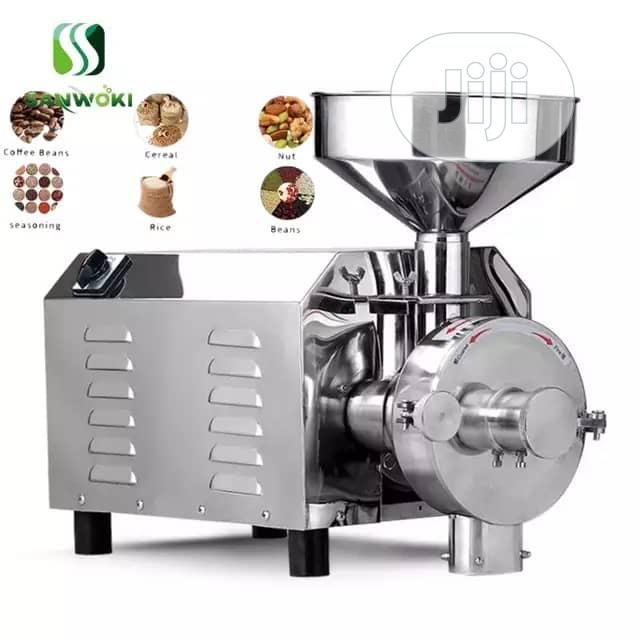 Industrial Spice Cereal Nuts Grinding Machine