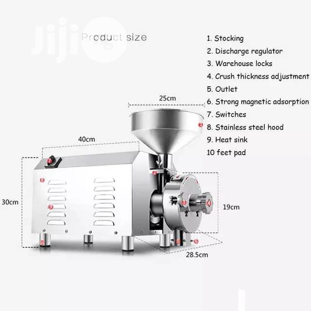 Industrial Spice Cereal Nuts Grinding Machine   Manufacturing Equipment for sale in Ojo, Lagos State, Nigeria