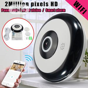 Panoramic Wifi IP Camera For Smartphone Remote View   Security & Surveillance for sale in Lagos State, Ikeja
