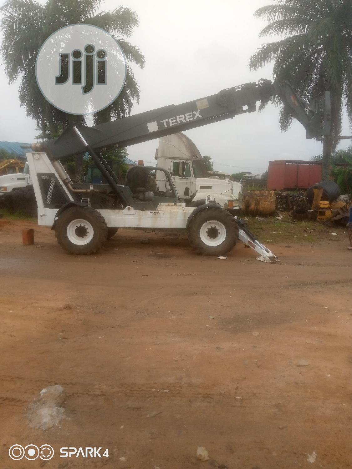 Terex Telescopic Fork Lift For Hire | Automotive Services for sale in Port-Harcourt, Rivers State, Nigeria
