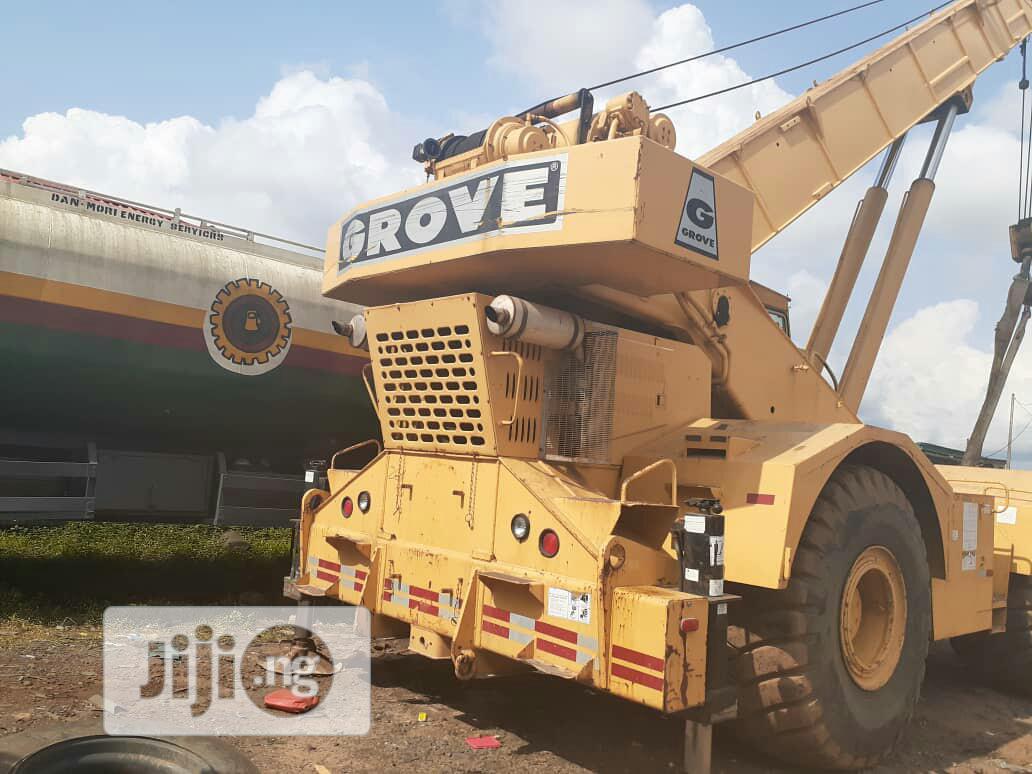 Archive: 100tons Grove Crane