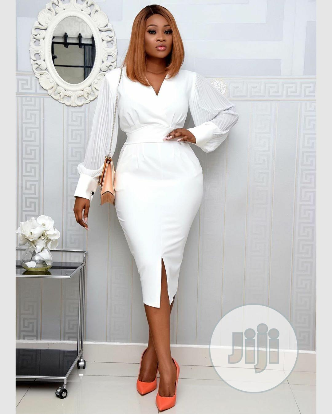 Quality Female White Gown | Clothing for sale in Ikeja, Lagos State, Nigeria